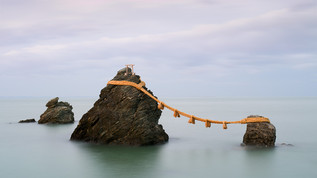 Japon: photographier les rochers mariés de Meoto Iwa à Ise
