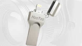 Sauvegardez les photos et vidéos de votre smartphone grâce à la clé Hoo Too 128 Go
