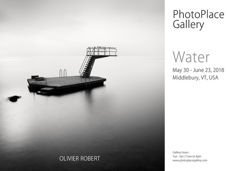 Water - Photoplace Gallery, Middlebury, USA 2018