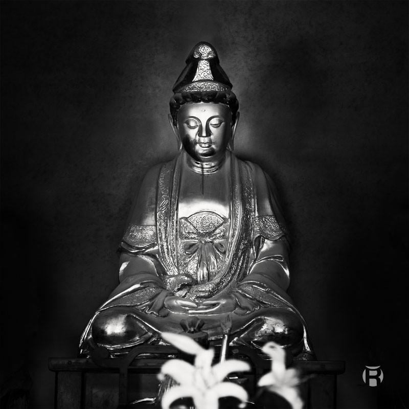 Statue du temple Sofukuji à Nagasaki