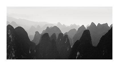 Cine, Montagnes de Guilin. Tirage Fine Art 35x70 cm | Olivier Robert