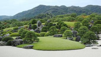 Japon: photographier les jardins du Musée d'Art Adachi à Yasugi