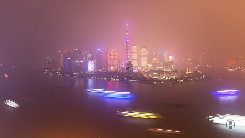 Chine: comment photographier The Bund à Shanghai en poses longues