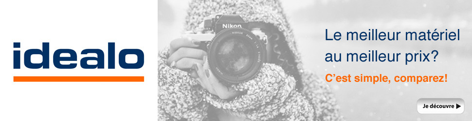 Idealo - Le meilleur matériel photo au meilleur prix? C'est simple, comparez!