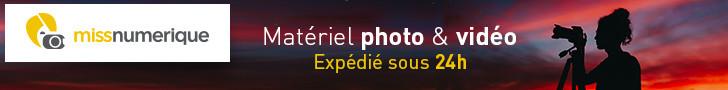 Matériel photo & vidéo expédié sous 24 heures
