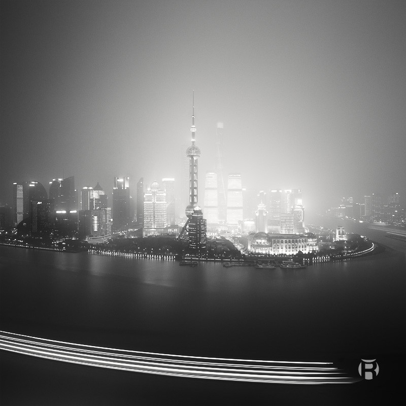 Chine: comment photographier The Bund à Shanghai en poses longues