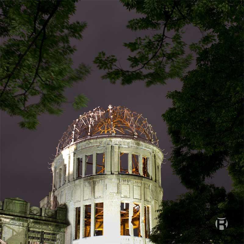 Japon: photographier l'Atomic Bomb Dome à Hiroshima
