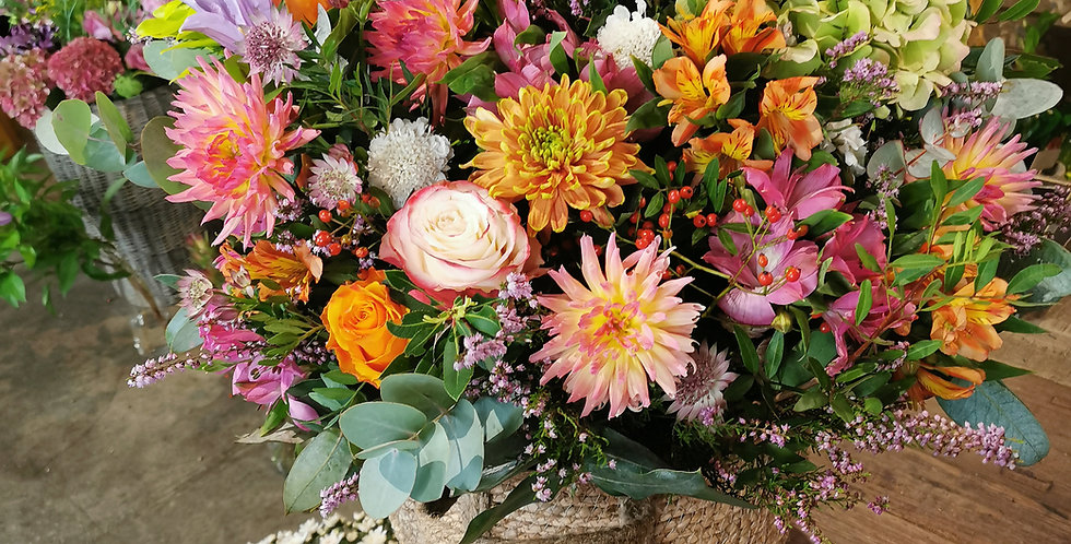Cesta flores XXL