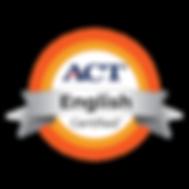 ACT English Badge.png