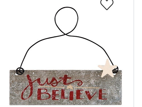 Just Believe Ornament