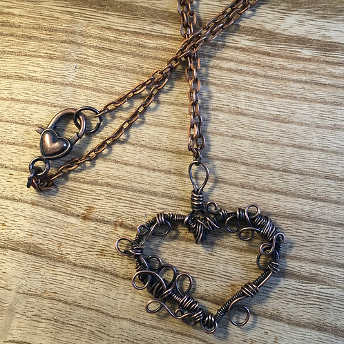 Heart Wrap Necklace