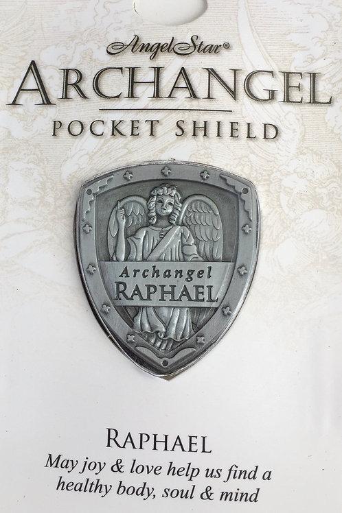 Archangel Raphael Pocket Shield