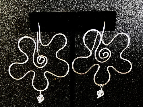 Boho Flower Earrings