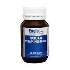 Natural Vitamin E  500  IU 60caps