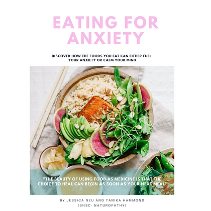Eating for Anxiety E-Book