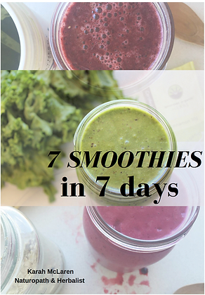 7 Smoothies in 7 Days E-Book