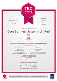 Cascade3d QSF Certificate