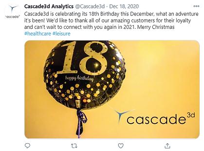 Cascade3d's 18th Birthday Celebrations