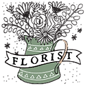 WhiteRowWebsite FooterIcon FLORIST.png