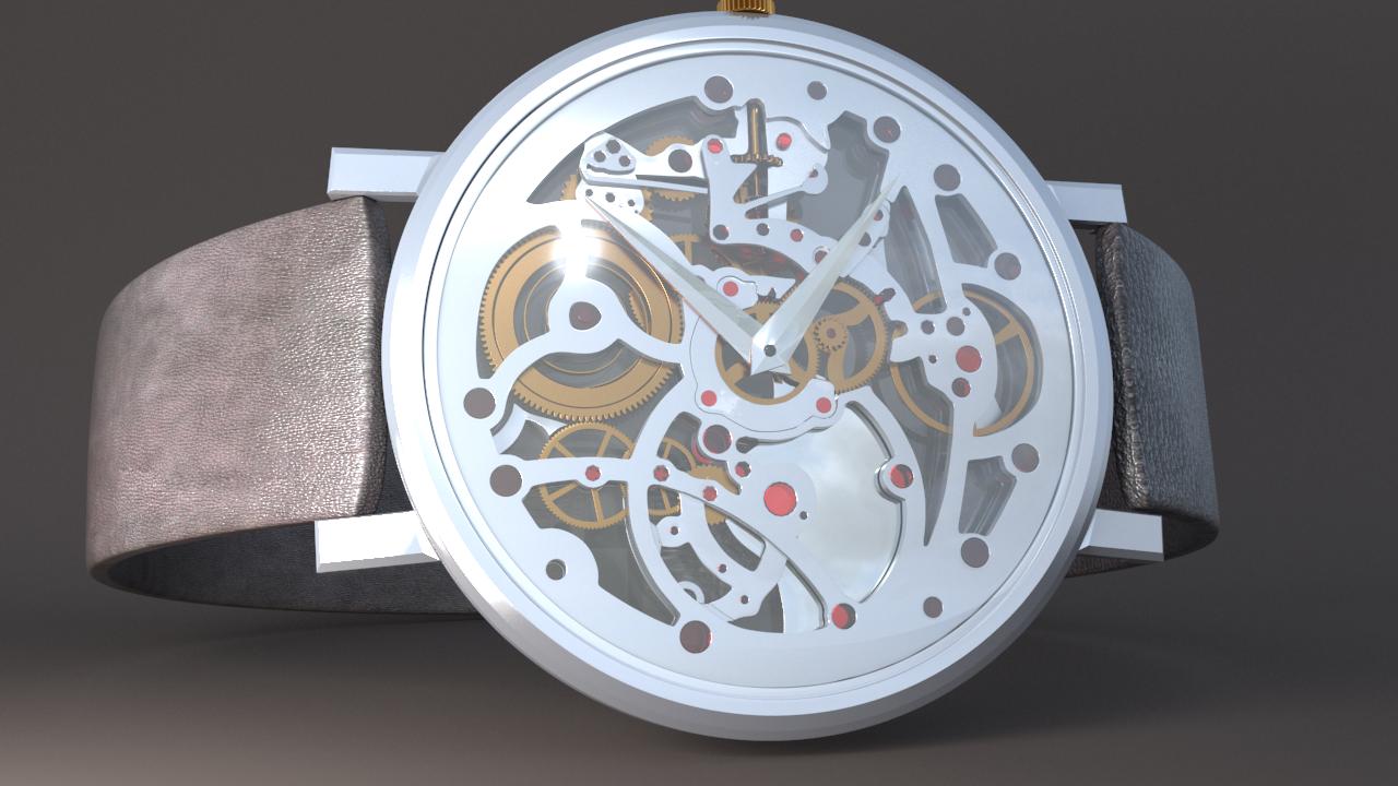 piaget watch - 3d