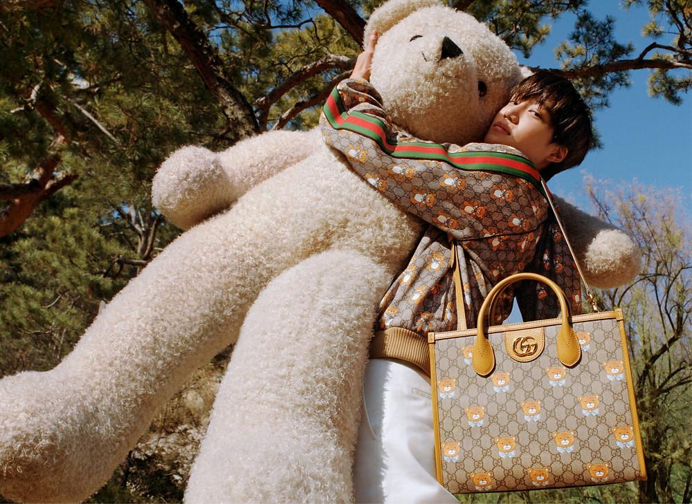 Gucci x Kai Teddy Bear Collection