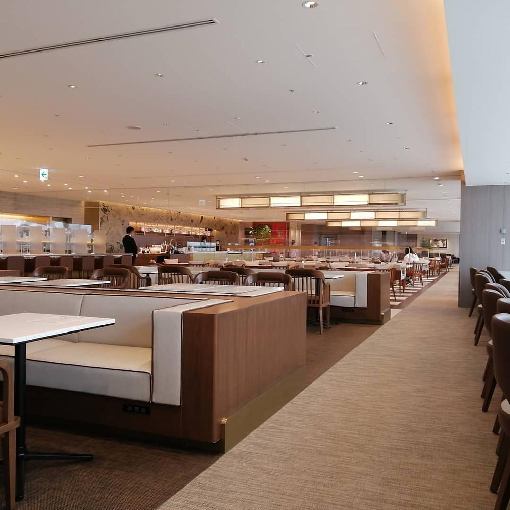 Airport Lounge Review: Japan Airlines Sakura Lounge