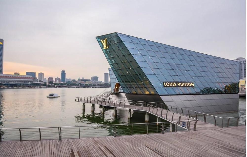 Louis Vuitton Island Marina Bay Sands Singapore