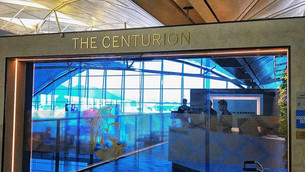 Airport Lounge Review: Amex Centurion Lounge