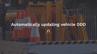 Always stay on top of your fleet servicing, with Traffio's automatic ODO updater.