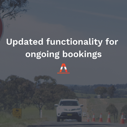 New functionality for bulk-updating ongoing bookings