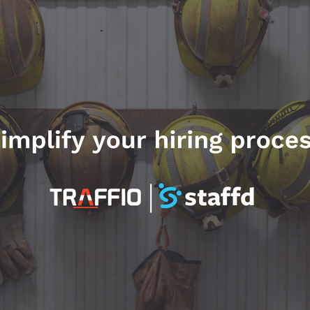 Traffio integrates with applicant management and employee onboarding software, Staffd.
