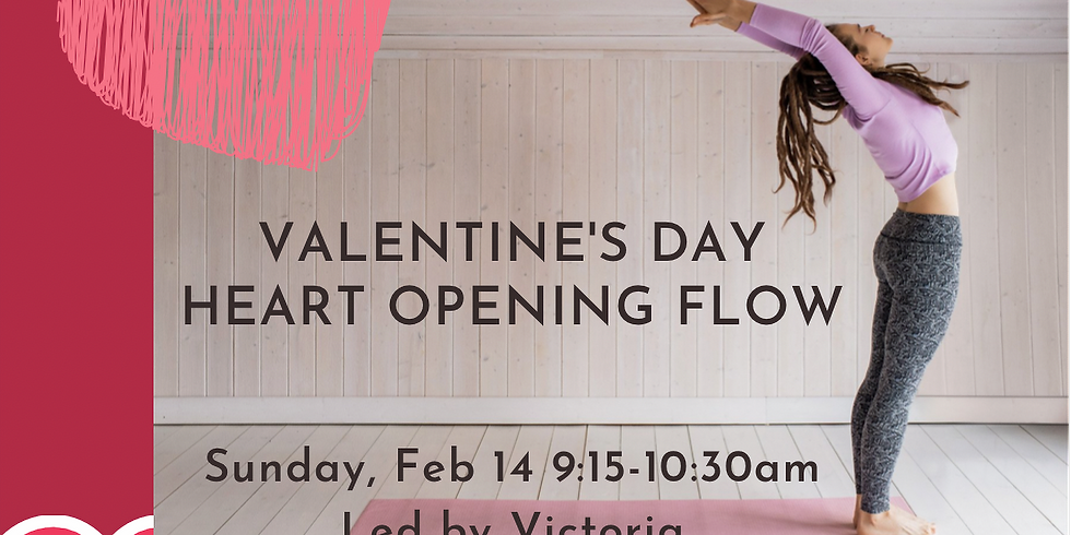 Valentine's Day Heart Opening Flow