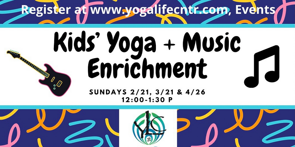 "Kids"" Yoga & Music Enrichment (1)"
