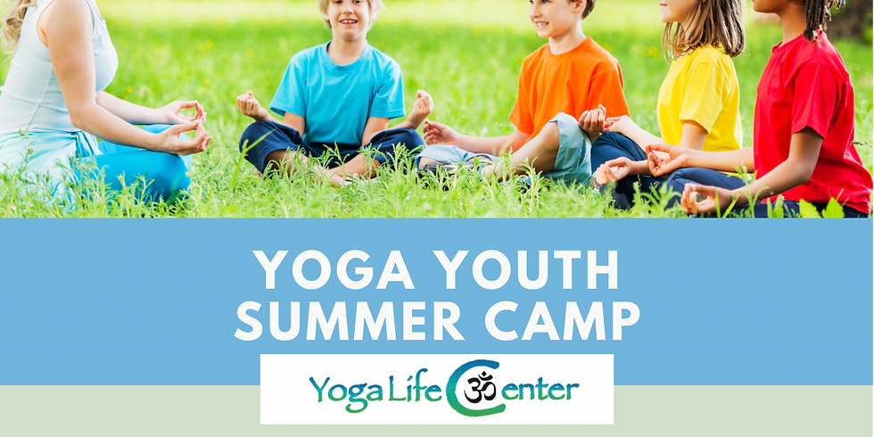 Yoga Youth Summer Camp - July 20, 21, 22