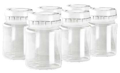 Storage Bottle Kit (Set of 6)