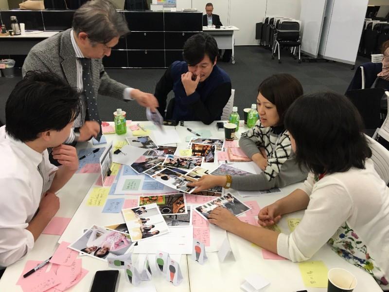 Workshop facilitado pelo Mindlab, da Dinamarca, com intuito de estabelecer uma cooperação entre o setor público e o setor privado para solução de desafios sociais atuais, em Tokyo.