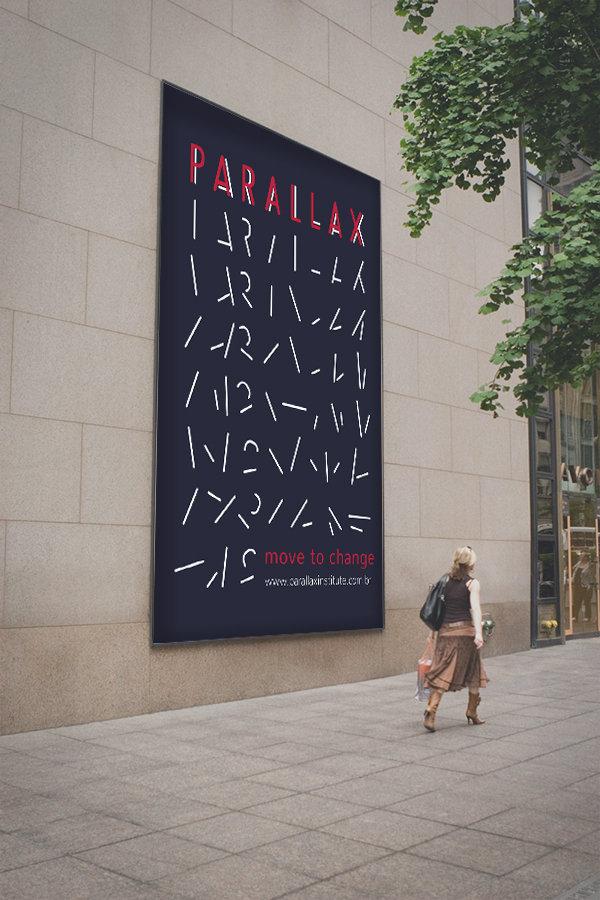 Banner de rua com a identidade visual.