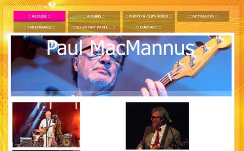 Le site de Paul Macmannus
