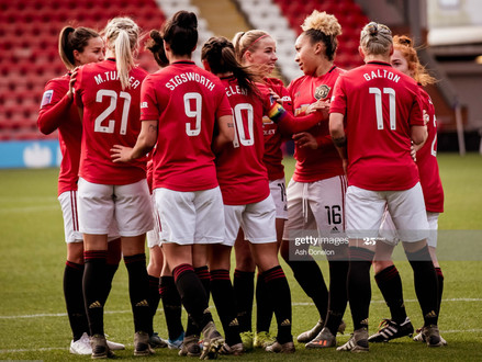 Manchester United Women; Too early for top 3?