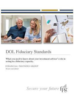 DOL Fiduciary White Paper