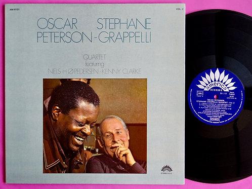 OSCAR PETERSON & STEPHANE GRAPPELLI / QUARTET VOL.2