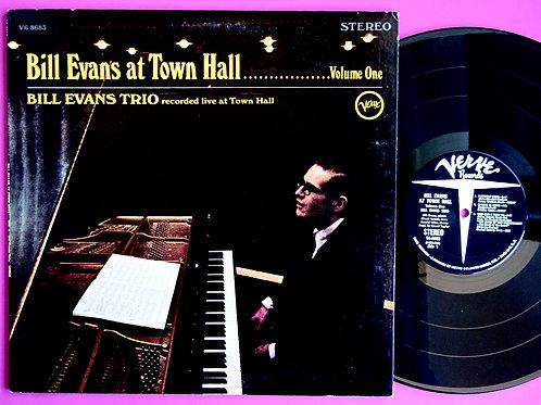 BILL EVANS / AT TOWN HALL VOL.1