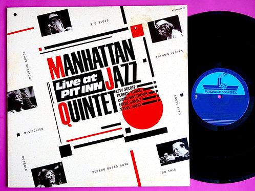 MANHATTAN JAZZ QUINTET / LIVE AT PIT INN