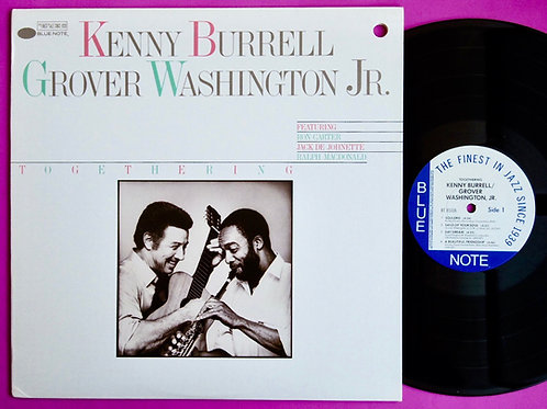 KENNY BURRELL & GROVER WASHINGTON JR. / TOGETHERING