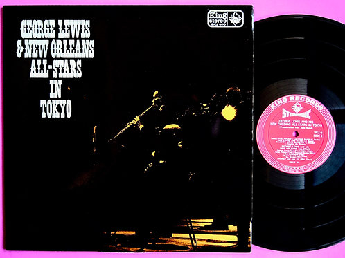 GEORGE LEWIS & NEW ORLEANS ALL STARS / IN TOKYO