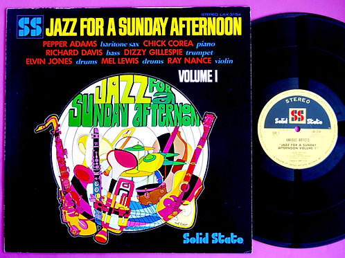 VARIOUS / JAZZ FOR A SUNDAY AFTERNOON