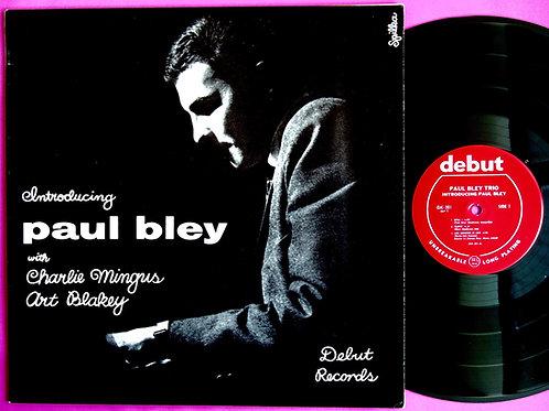 PAUL BLEY / INTRODUCING