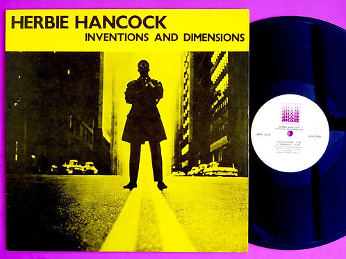 HERBIE HANCOCK / INVENTIONS & DIMENSIONS
