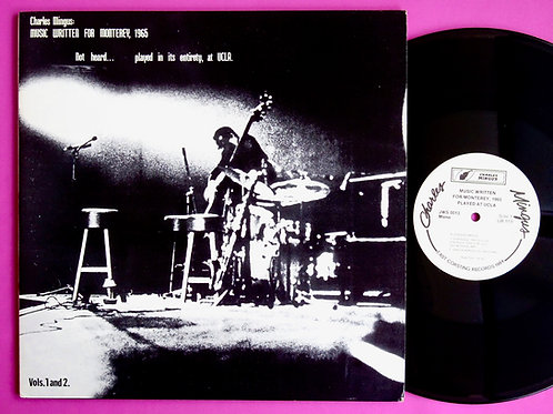 CHARLES MINGUS / MUSIC WRITTEN FOR MONTEREY, 1965