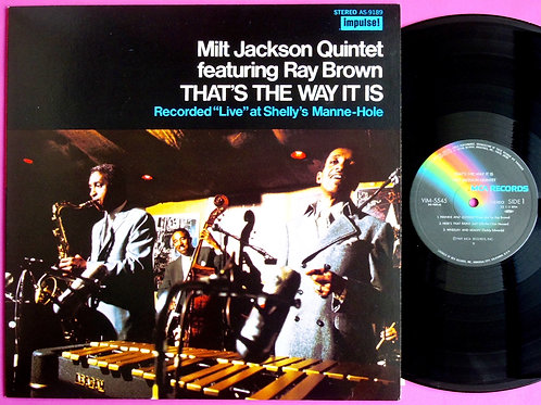 MILT JACKSON / THAT'S THE WAY IT IS